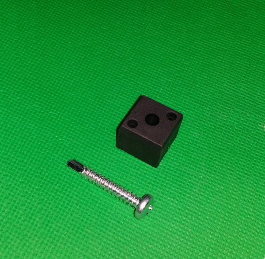 Blockverbinder schwarz