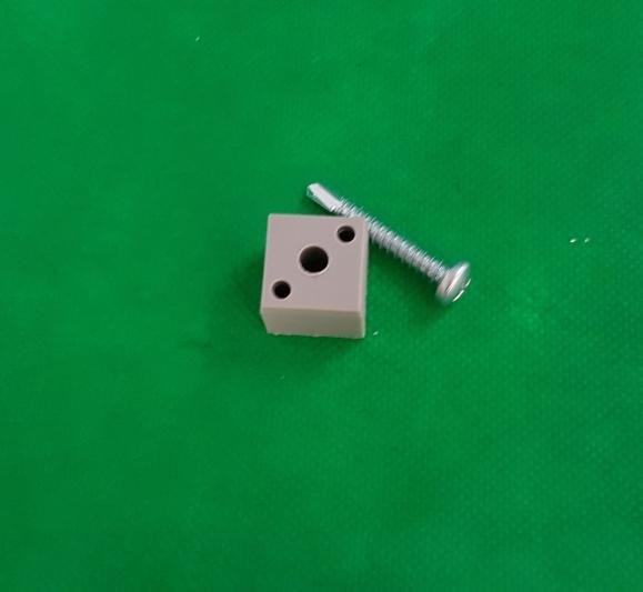 Blockverbinder für 20x20x1,5mm