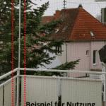 Ecke für Katzennetz System Bausatz 2