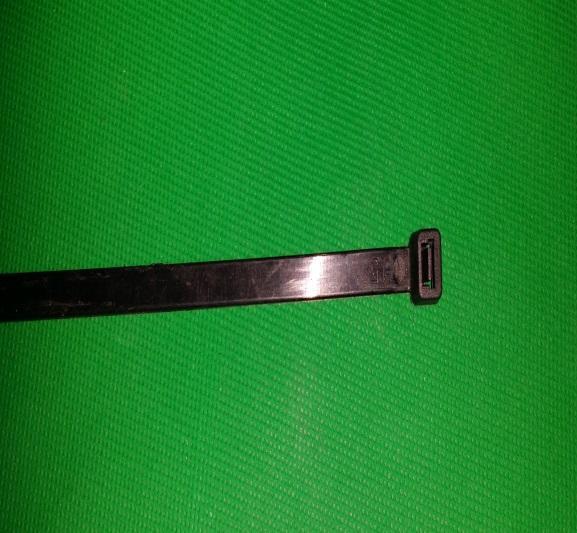Stangenbinder 7,2mm (schwarz oder weiss)
