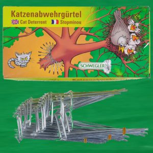 Katzenabwehrgürtel - Kletterschutz