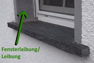 Fensterlaibung für Katzennetz am Fenster oder Katzenbalkon
